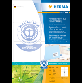 Etiketten HERMA Special Recycling